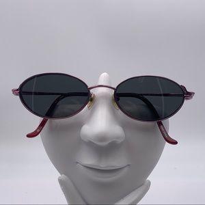 Innovative Technology Purple Oval Sunglasses Frame
